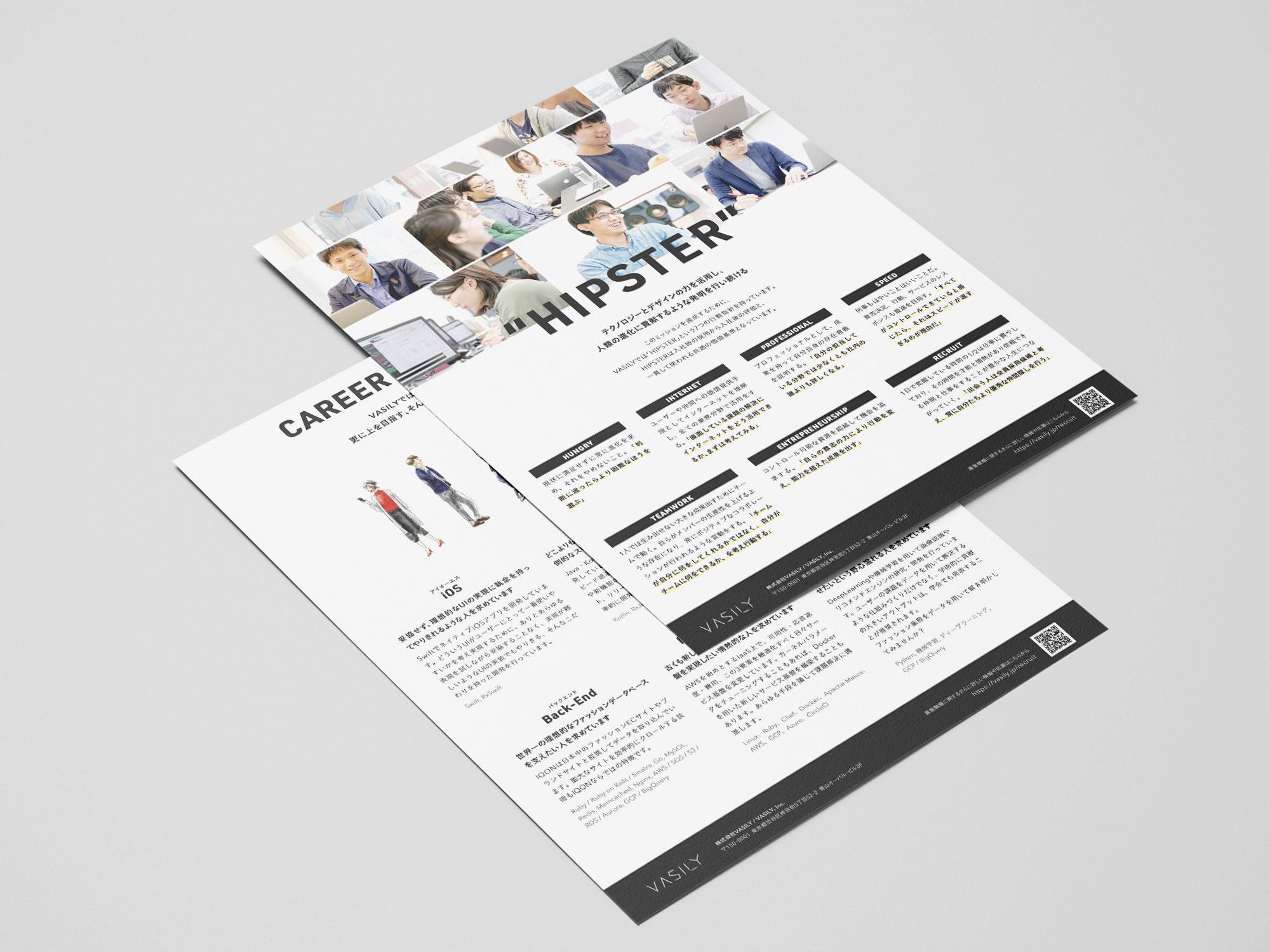 """""""HIPSETER"""" Flyer & A1 Poster"""