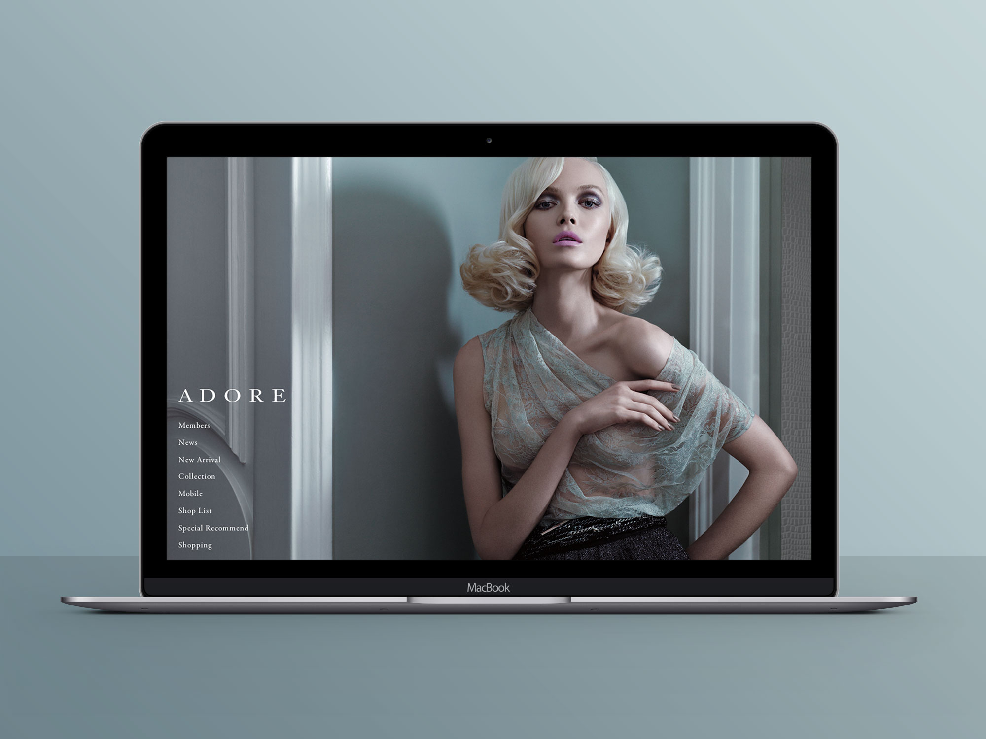 adore Official Web Site Design