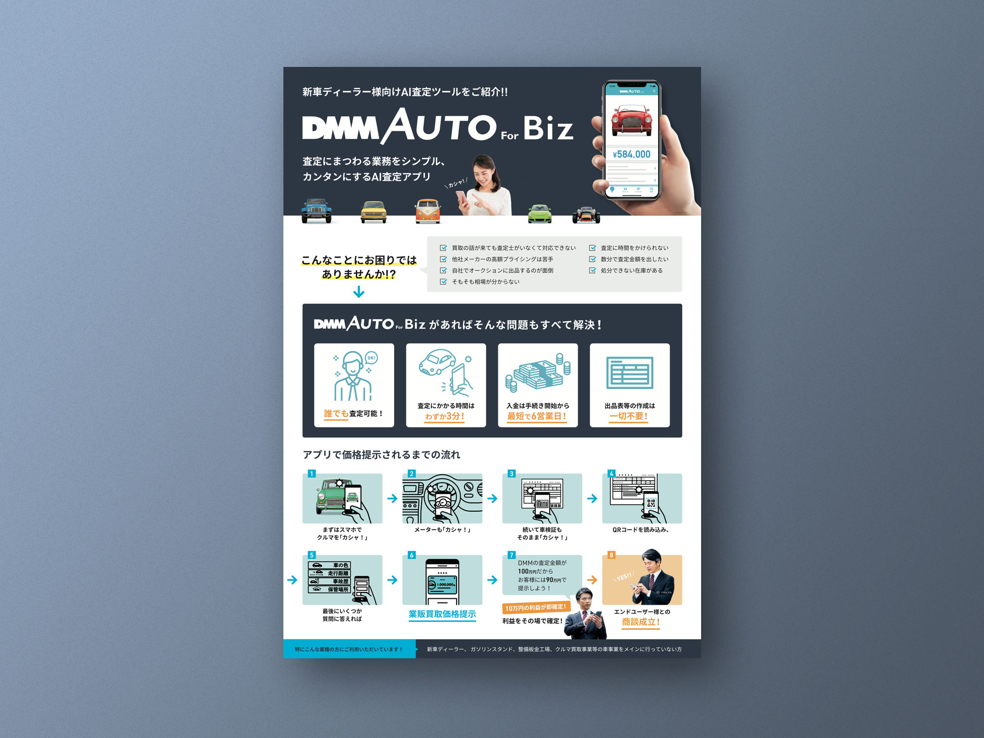 DMM AUTO for Biz Flyer Design
