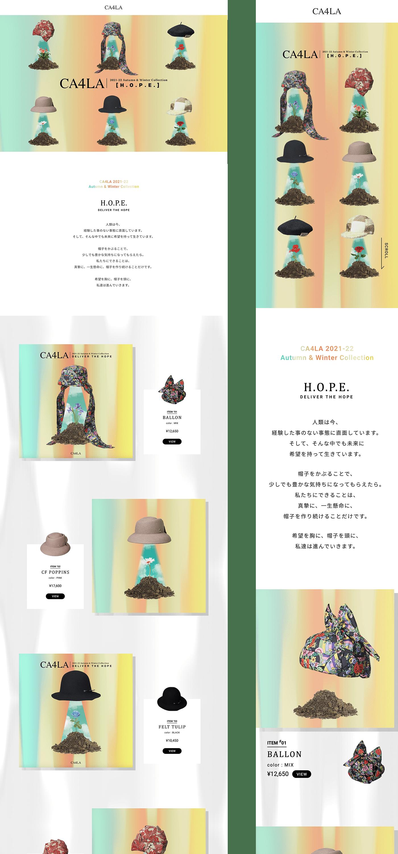 CA4LA 2021-22 Autumn & Winter Collection